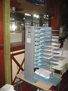 Фрикционная башня  DFC 100 Типография «Эверо»